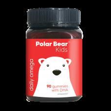 Polar Bear Kids DHA Brain Health Gummy 极地熊儿童系列聪明大脑DHA软糖